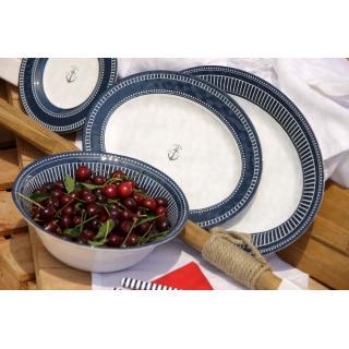 Sailor Soul Set krožnikov in skodelic, skleda za solato, s košaro, 13 kos   - Kuhinja in Jedilnica