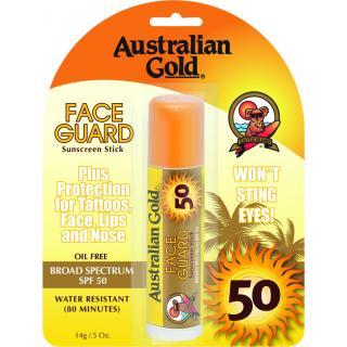 Australian Gold stik za obraz z ZF50, 14 g   - Sončne Kreme