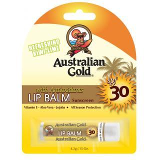Australian Gold stik za ustnice z ZF30, 4.2 g   - Sončne Kreme