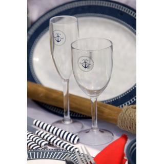 Sailor Soul Kozarec za vino, 6 kos   - Kuhinja in Jedilnica