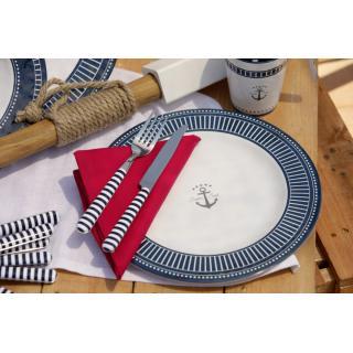 Sailor Soul Set krožnikov in skodelic s košaro, 24 kos   - Kuhinja in Jedilnica