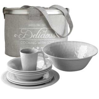 Harmony komplet Silver 13 kos   - Kuhinja in Jedilnica